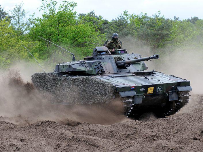 Tanks & Pantservoertuigen